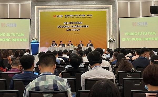Họp ĐHCĐ SHB: Lãi 2021 có thể tăng 88%, chào bán vốn giá 12.500 đồng/cp