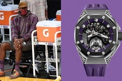 LeBron James đeo đồng hồ hiếm hơn 163.000 USD