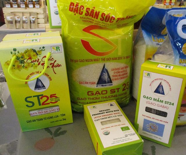 Gạo ST24, ST25 đang được thị trường rất ưa chuộng.