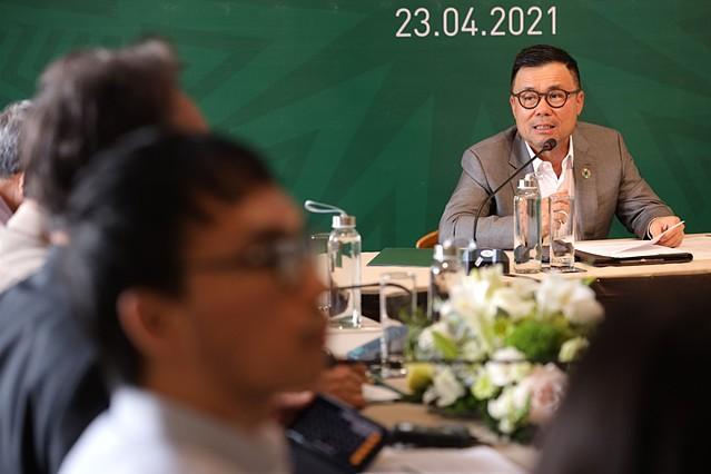 Ông Nguyễn Duy Hưng, Chủ tịch HĐQT Tập đoàn PAN chia sẻ về những cơ sở để PAN có thể bứt phá trong năm 2021. Ảnh: PAN