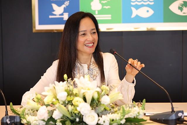 Bà Nguyễn Thị Trà My - Phó Chủ tịch kiêm Tổng giám đốc Tập đoàn PAN chia sẻ