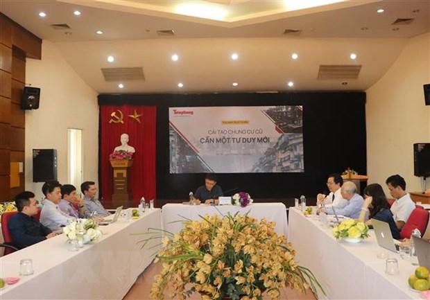 Cải tạo chung cư cũ ở thành phố Hà Nội: Cần tư duy đột phá