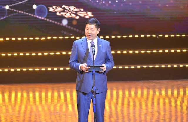 Ông Trương Gia Bình, Chủ tịch Hội đồng Sáng lập VINASA, Trưởng Ban tổ chức giải thưởng Sao Khuê 2021.