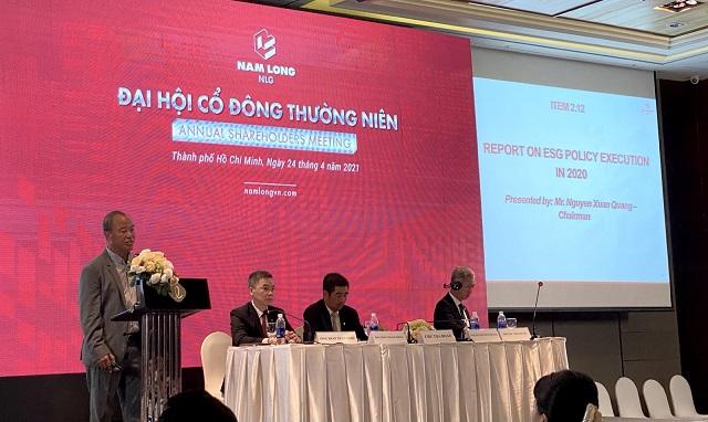 Họp ĐHCĐ Nam Long: Mục tiêu lợi nhuận 2021 - 2023 tăng 70% so với giai đoạn trước, M&A quỹ đất mỗi năm