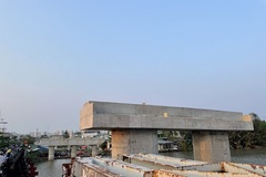 Chuẩn bị tái khởi công cây cầu 'đắp chiếu' hơn 2 thập kỷ tại TP HCM