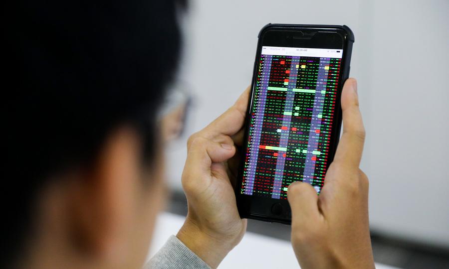 Cổ phiếu lớn lao dốc, VN-Index giảm hơn 30 điểm