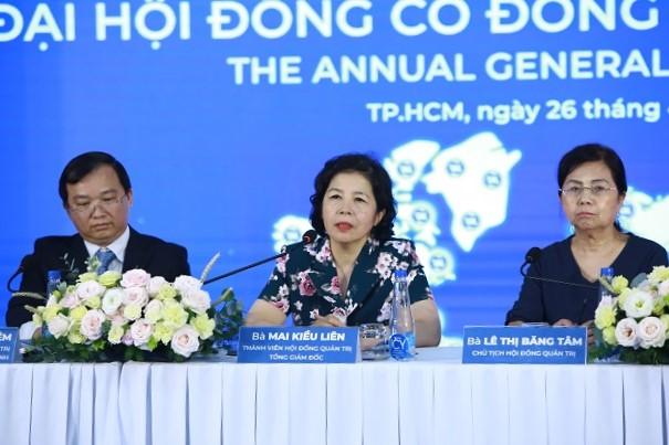 Bà Mai Kiều Liên: Không doanh nghiệp nào muốn tăng trưởng thấp, cố gắng hết sức hoàn thành kế hoạch 2021