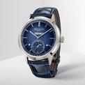 """<p class=""""Normal""""> <strong>Patek Philippe</strong></p> <p class=""""Normal""""> Hãng đồng hồ nổi tiếng Patek mang tới Watches and Wonders 2021 tuyệt phẩm 5711/1A-014 Nautilus với mặt số màu xanh oliu đẹp mắt và mẫu đồng hồ lịch vạn niên 5236P. Lấy cảm hứng từ những chiếc đồng hồ bỏ túi của thập niên 70 thế kỷ trước, các mẫu đồng hồ thuộc dòng Ref 5236 có cửa sổ hiển thị thứ ngày tháng trên cùng một dòng. Ngoài ra, 5236P còn được trang bị lịch tuần trăng với kiểu dáng rất tinh xảo nằm ở vị trí 6h. Đây là 1 chức năng tương đối thú vị của đồng hồ, bởi nó không chỉ giúp chúng ta xác định được chính xác ngày lịch âm mà còn giúp bạn nhận diện được đâu là ngày trăng tròn, trăng khuyết. (Ảnh:<em>Patek Philippe</em>)</p>"""