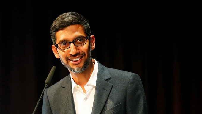 CEO Google có thu nhập 7,4 triệu USD năm 2020