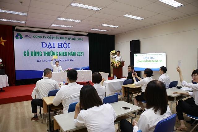 Cổ đông Nhựa Hà Nội thông qua kế hoạch doanh thu 1.900 tỷ đồng năm 2021