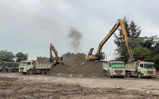 Nhà thầu thi công cao tốc Bắc - Nam, phía Đông tìm nguyên liệu thay thế để dự án về đích đúng tiến độ