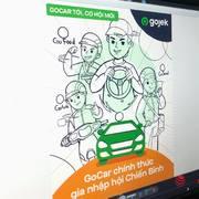 Gojek tuyển tài xế ôtô, sắp tung ra dịch vụ GoCar đấu Grab và be