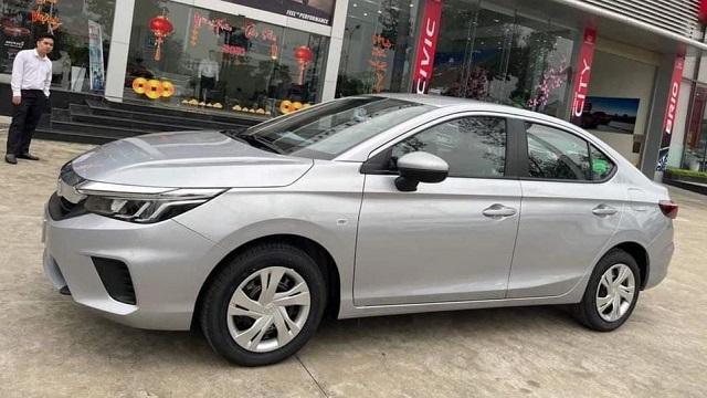 Honda City 2021 phiên bản 'taxi' xuất hiện tại Việt Nam