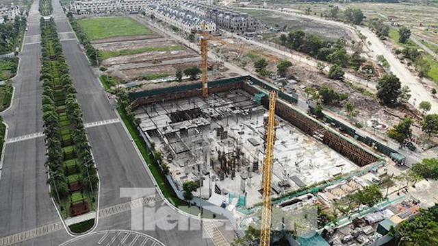 Thanh tra vào cuộc kiểm tra dự án chung cư xây không phép giữa Thủ đô