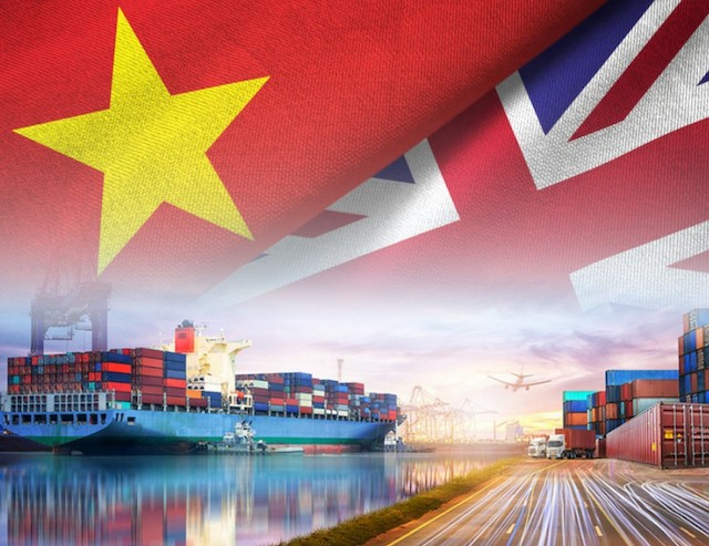 Hiệp định Thương mại tự do giữa Việt Nam, Vương quốc Anh và Bắc Ireland (UKVFTA) có hiệu lực  từ hôm nay (1/5).