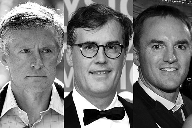 Tiger Management, run by Julian Robertson, became one of the first widely famous hedge funds. Many former Tiger employees went on to open their own shops. Hwang's onetime colleagues at Tiger Management include (from left): Andreas Halvorsen, Viking Global Management; Philippe Laffont, Coatue Management; and Chase Coleman, Tiger Global Management.PHOTO ILLUSTRATION: 731. PHOTOGRAPHERS: KEVORK DJANSEZIAN/GETTY IMAGES (HALVORSEN); KIMBERLY WHITE/GETTY IMAGES (LAFFONT); AMANDA L. GORDON/BLOOMBERG (COLEMAN)