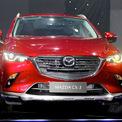 """<p class=""""Normal""""> <strong>Mazda CX-3</strong></p> <p class=""""Normal""""> CX-3 thuộc phân khúc crossover cỡ B nơi có những đối thủ đáng gờm thuộc top doanh số như Kia Seltos, Hyundai Kona, Ford EcoSport. CX-3 bán ra ba phiên bản: 1.5 Deluxe giá 629 triệu, 1.5 Luxury giá 669 triệu và 1.5 Premium giá 709 triệu.</p> <p class=""""Normal""""> Mazda trang bị cho CX-3 động cơ xăng 1.5 SkyActiv-G công suất 110 mã lực, mô-men xoắn cực đại 144 Nm. Hộp số tự động 6 cấp. Tương tự CX-30, CX-3 cũng có công nghệ kiểm soát gia tốc GVC và ngắt động cơ tạm thời i-stop. (Ảnh: <em>Đắc Thành</em>)</p>"""