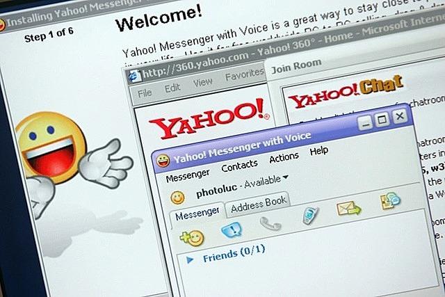 Yahoo! Messenger và Yahoo! 360° từng là những dịch vụ rất phổ biến tại Việt Nam. Ảnh: Getty.