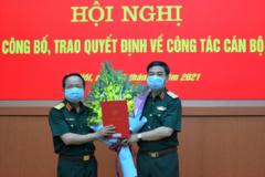 Ông Trịnh Văn Quyết làm Phó Chủ nhiệm Tổng cục Chính trị