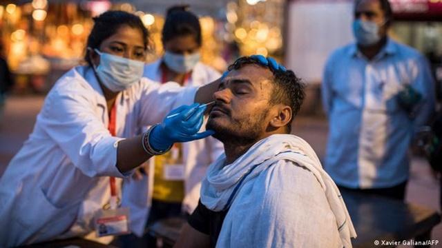 Ấn Độ tăng kỷ lục ca tử vong vì Covid-19