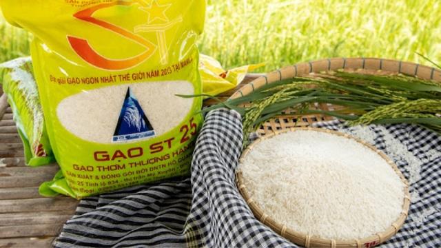Gạo ST25 đang được thị trường trong và ngoài nước ưa chuộng.