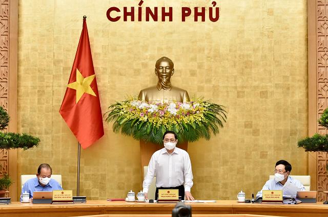 Thủ tướng Phạm Minh Chính chủ trì phiên họp Chính phủ thường kỳ tháng 4.