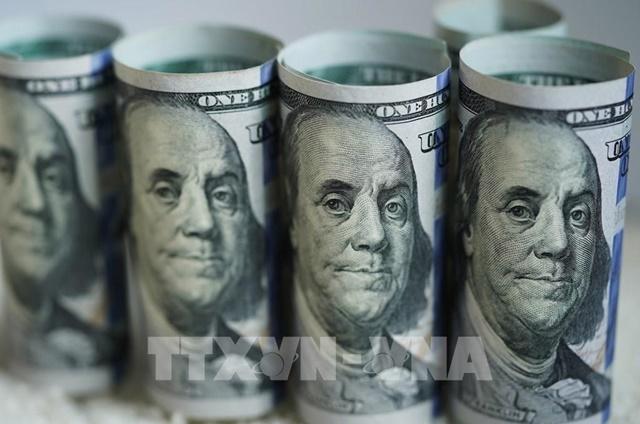 Đồng USD của Mỹ. Ảnh: THX/TTXVN
