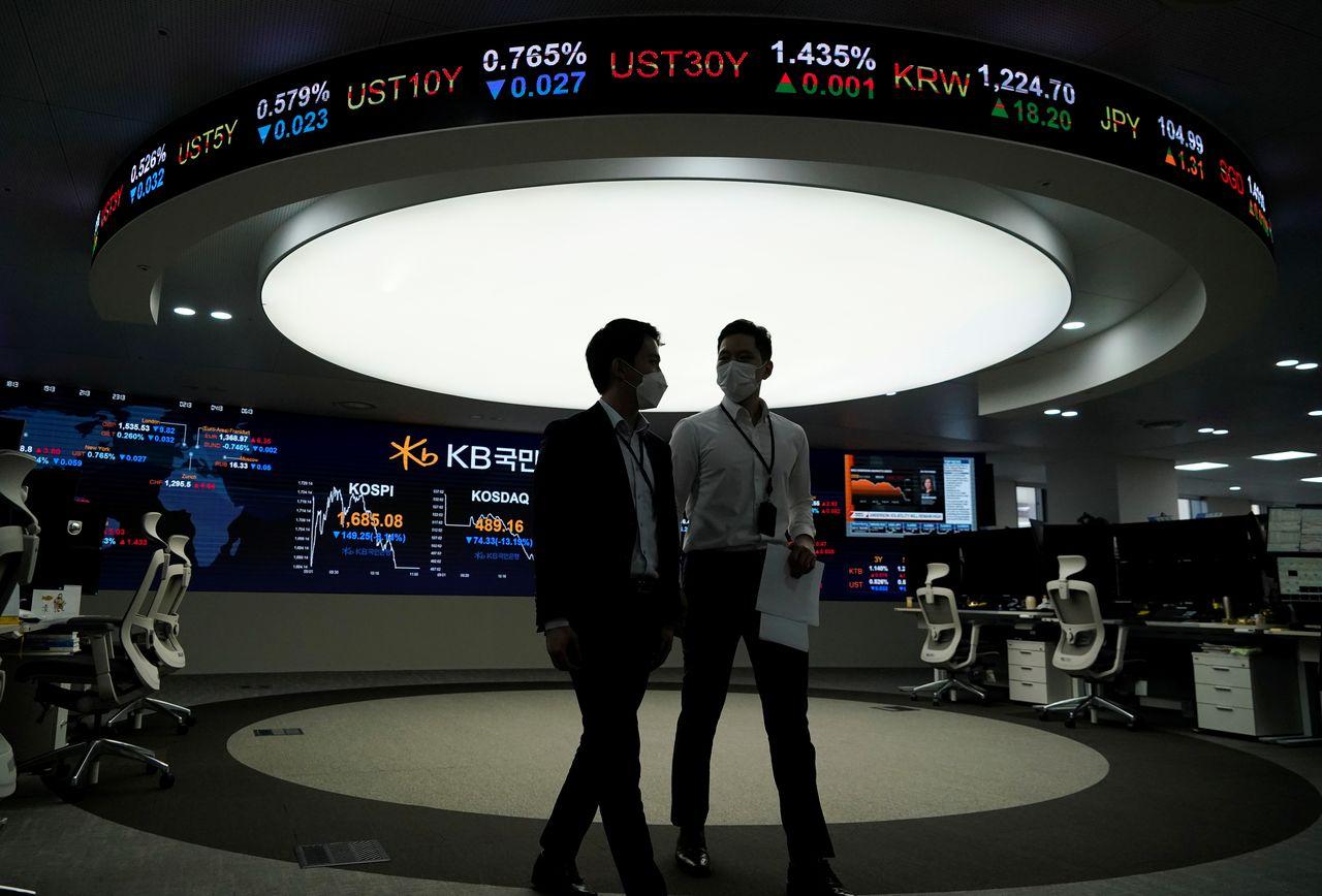 Khối ngoại lần đầu mua ròng chứng khoán châu Á kể từ đầu năm