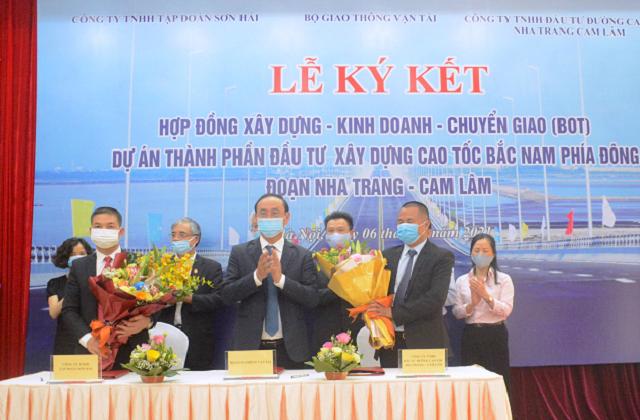 Dự án cao tốc Nha Trang-Cam Lâm chính thức được ký kết theo hình thức PPP.