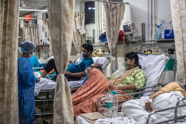 Ấn Độ ghi nhận ca tử vong cao chưa từng thấy trong 24 giờ