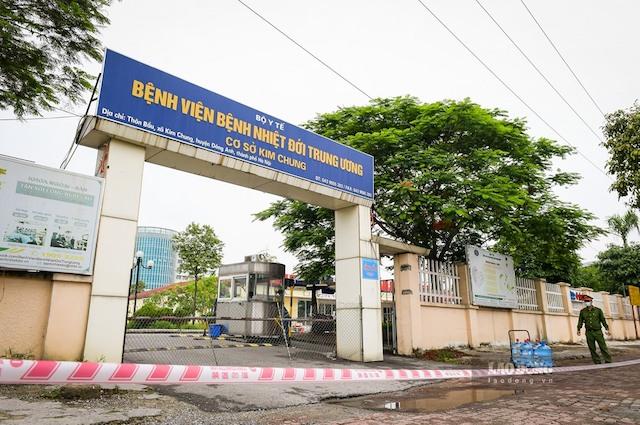 Bệnh viện Bệnh nhiệt đới Trung ương cơ sở Kim Chung. Ảnh: