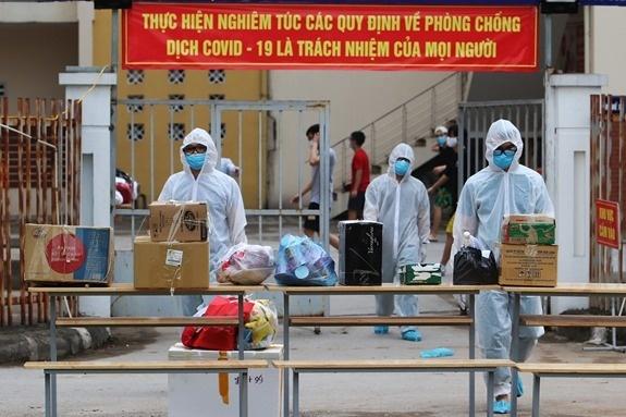 Một người làm việc ở Center Building, Thanh Xuân nhiễm Covid-19