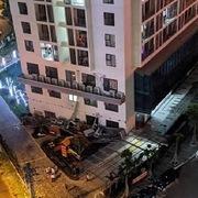 Bộ Xây dựng lên tiếng về vụ sập đổ dàn nóng điều hòa ở An Bình Plaza