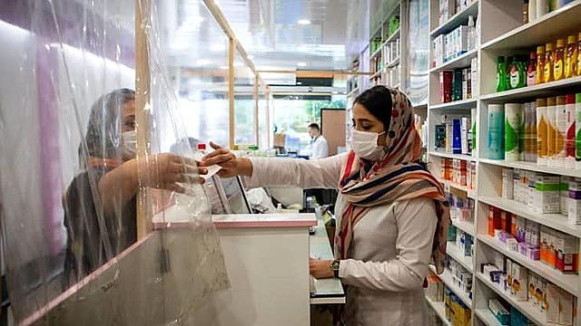 Một hiệu thuốc ở Iran. Ảnh: Getty Images.