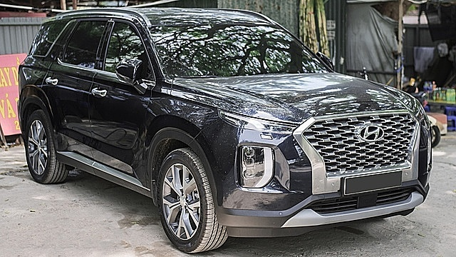 Chiếc Hyundai Palisade được nhân viên kinh doanh báo giá lên tới 2,5 tỉ đồng