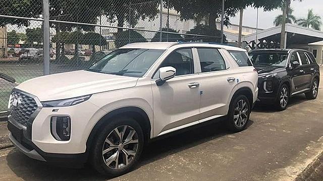 Lô xe Hyundai Palisade chính hãng về Việt Nam hồi năm ngoái