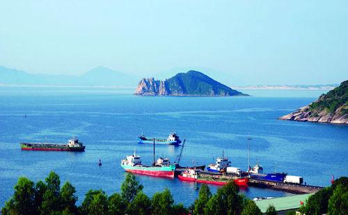Bộ Giao thông vận tải đồng ý chủ trương đầu tư đê chắn sóng 3.500 tỷ đồng ở Bãi Gốc Phú Yên. Ảnh: Cổng TT Bộ Giao Thông.