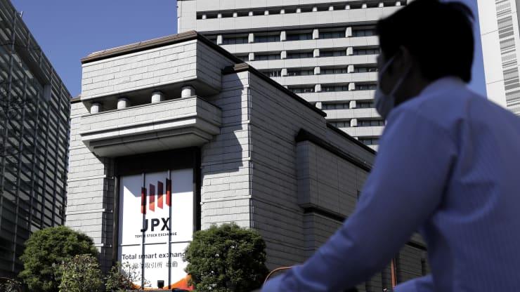 Nhà đầu tư thận trọng về lạm phát, hàng loạt thị trường chứng khoán châu Á giảm