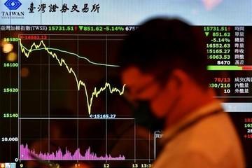 Margin call, Covid-19 đẩy chứng khoán Đài Loan về sát vùng điều chỉnh