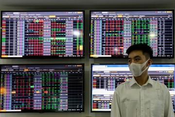 Bán mạnh cuối phiên, VN-Index giảm hơn 7 điểm
