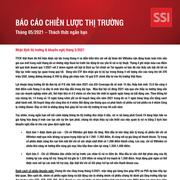 SSI Research: Báo cáo chiến lược thị trường tháng 5/2021 - Thách thức ngắn hạn