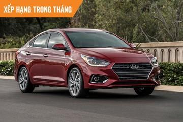 Những mẫu ôtô bán chạy nhất tháng 4: Hyundai Accent dẫn đầu