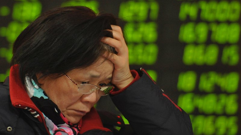 Một chỉ số lớn của chứng khoán Trung Quốc vào 'thị trường gấu'