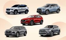 Top 5 xe crossover và SUV bán chạy tháng 4