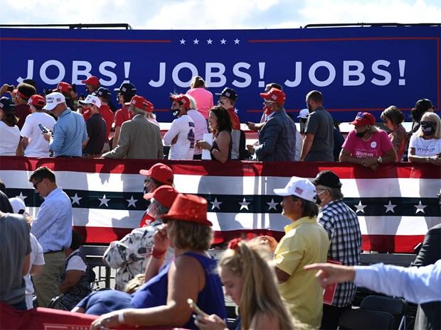 Tỷ lệ thất nghiệp tại Mỹ thấp nhất kể từ đầu đại dịch