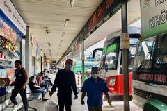 Từ 0 giờ ngày 15/5, TP HCM tạm dừng các tuyến xe khách đến các vùng có dịch