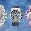 <p> Sau một năm khó khăn, các nhà sản xuất đồng hồ sang trọng đang khởi động lại với những thiết kế ấn tượng. Bloomberg chọn ra một số mẫu đồng hồ nổi bật từ thương hiệu như Rolex, Hublot, Chopard... Ảnh: <em>Bloomberg.</em></p>