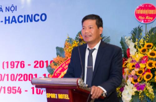 ông Nguyễn Văn Thanh, Giám đốc Công ty Đầu tư Xây dựng số 2 Hà Nội (Hacinco).