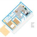 <p> Thiết kế không gian toàn bộ căn hộ.</p>