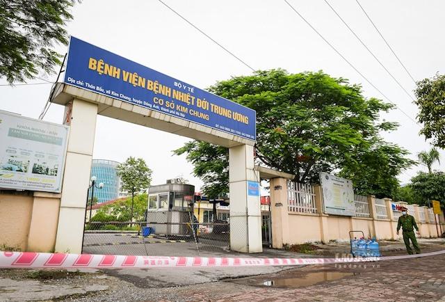 Thêm 1 bệnh nhân nhiễm Covid-19 đang điều trị tại Bệnh viện Bệnh Nhiệt đới Trung ương cơ sở Kim Chung tử vong.